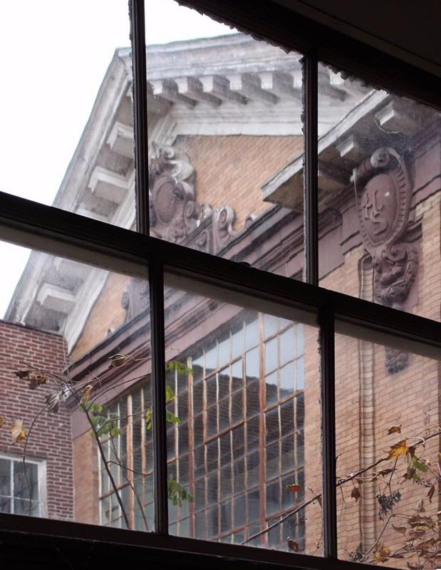Photo, Existing, 1909 Interior Courtyard through Window 2