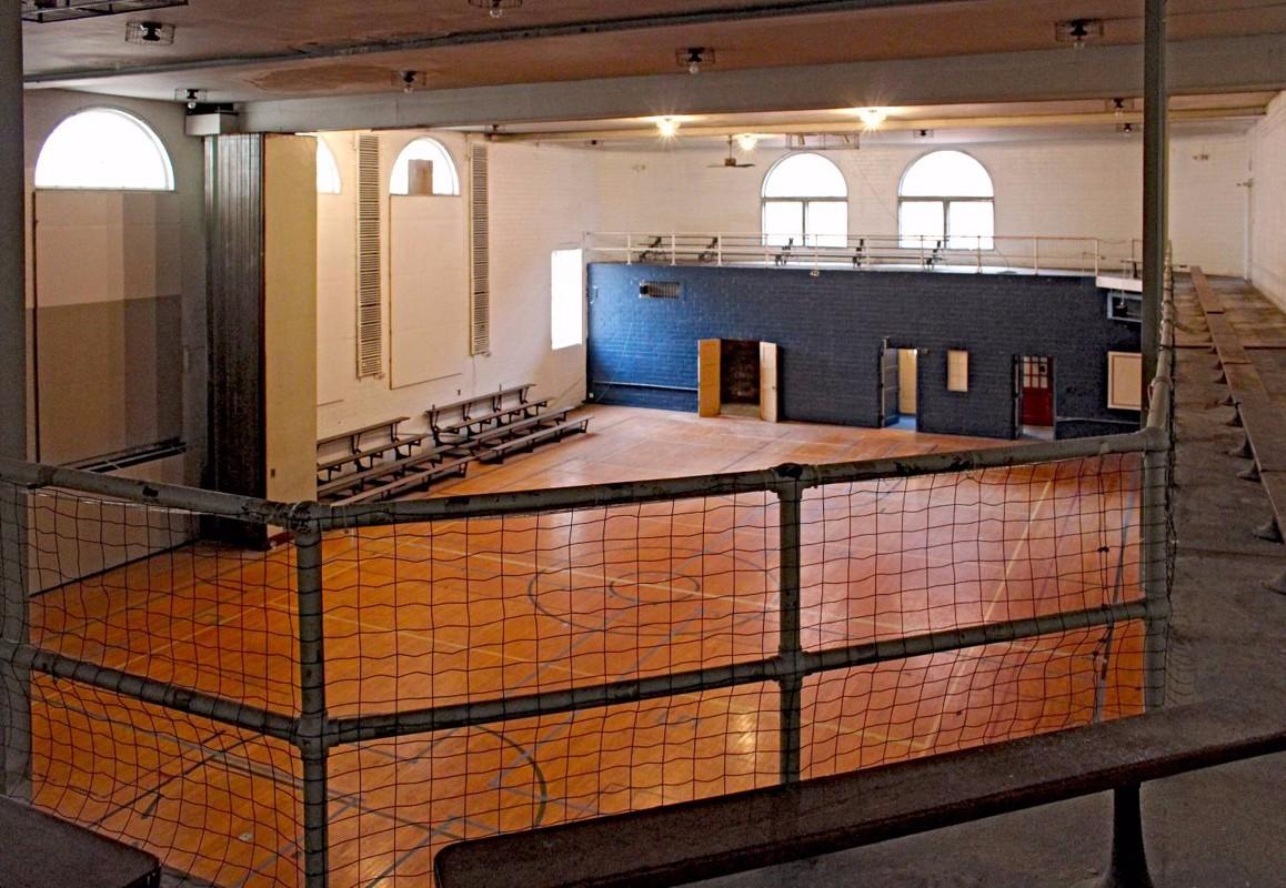 Photo, Existing, 1931 Gymnasium  Interior 1